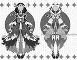 raven princess outfit adoptables open