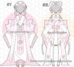 Sweet Kimono adoptables closed by AS-Adoptables