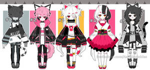 Kemonomimi adoptable batch open set price