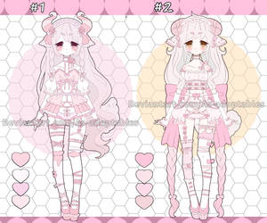 Sweet sheep adoptables open set price by AS-Adoptables