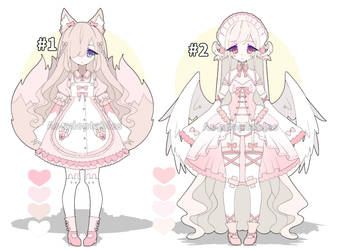 Sweet kemonomimi adoptables closed by AS-Adoptables