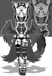 Raven spirit adoptable closed by AS-Adoptables