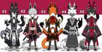 Japanese dragon spirit adoptables open set price by AS-Adoptables