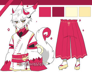 Japanese dragon adoptable closed by AS-Adoptables