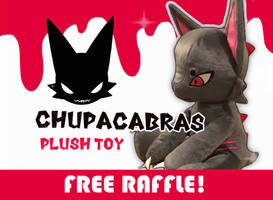 CHUPACABRAS PLUSH KICKSTARTER FREE RAFFLE! OPEN by AS-Adoptables