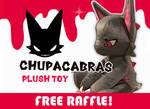 CHUPACABRAS PLUSH KICKSTARTER FREE RAFFLE! OPEN