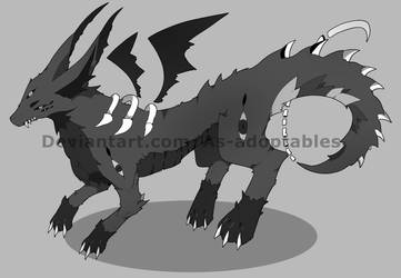 Monster adoptable open by AS-Adoptables