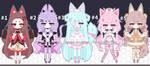 Kemonomimi girl adoptables open by AS-Adoptables