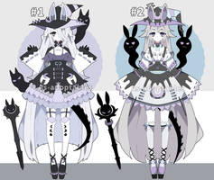 Goth witch adoptables open