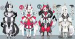 Kitsune adoptables Closed by AS-Adoptables