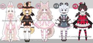 Kemonomimi girl adoptables open