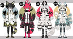 Monster Kemonomimi adoptables open by AS-Adoptables