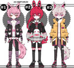Punk Kemonomimi adoptables closed