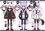 Pastel goth Kemonomimi boy adoptables closed
