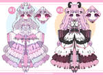 Pastel goth demon adoptables closed