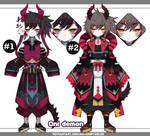Oni demon adoptables closed