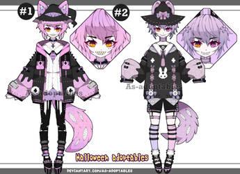 Halloween Kemonomimi boy adoptables open