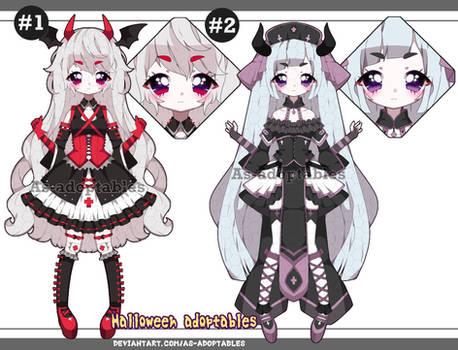 Pastel goth demon adoptables open