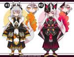 Dragon Kemonomimi adoptables Closed
