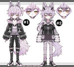 goth kemonomimi boy adoptables closed