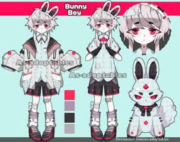 Nurse Bunny adoptable CLOSED