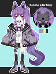 Punk Kemonomimi adoptable open