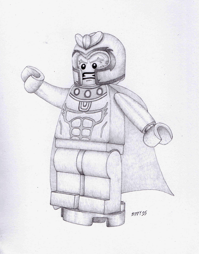 lego magneto coloring pages - photo#1