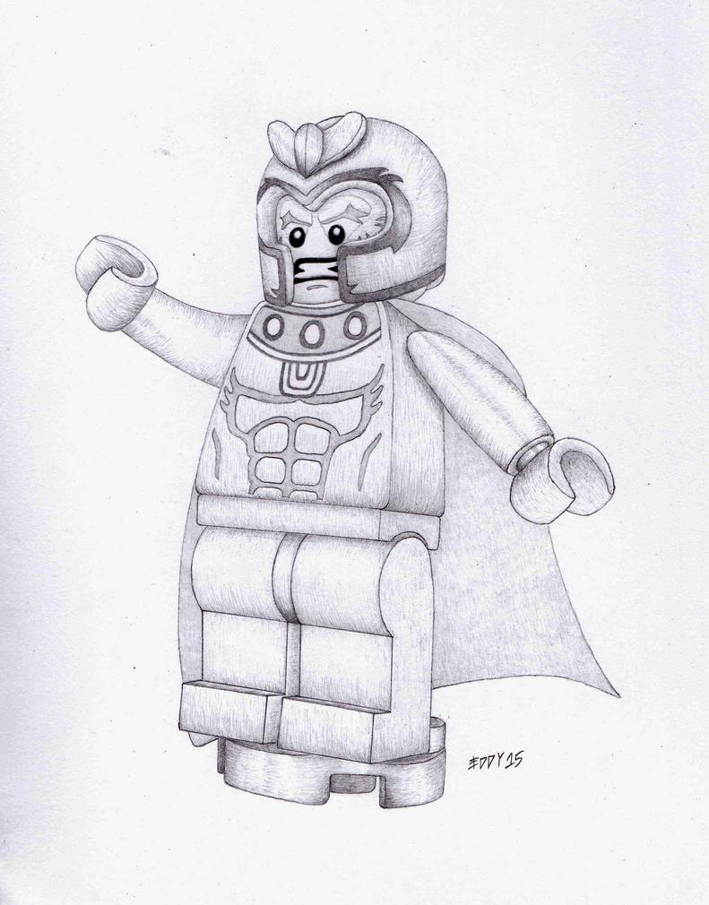 magneto lego marvel super heroes x men by ed10103e on deviantart