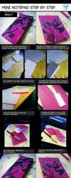 Mini Note Pad Tutorial by onwa7