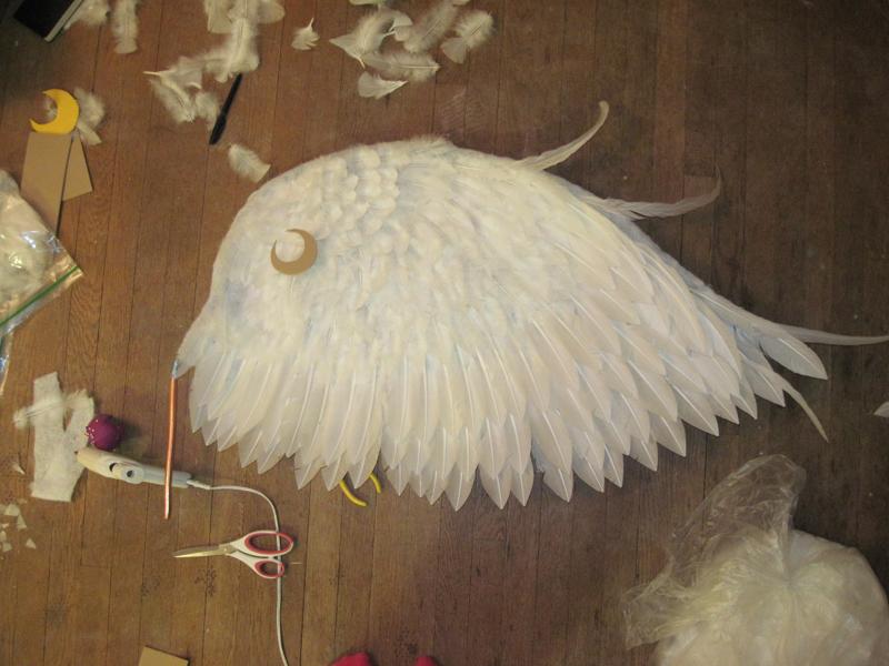Eternal Moon wings in-progress by meteorie