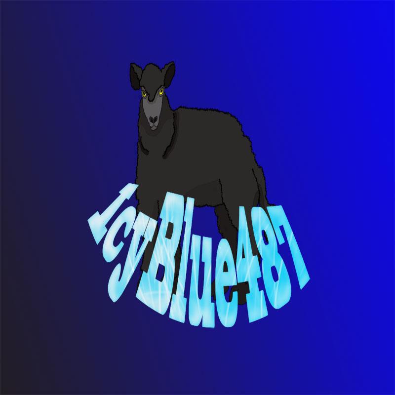 IcyBlue487 Logo 2 by DarkSirenftw