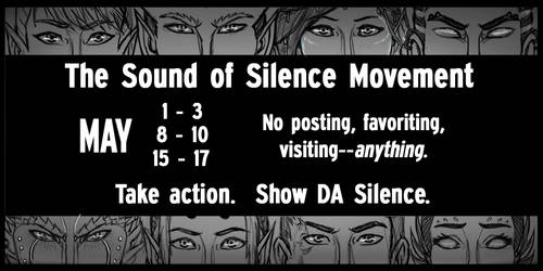The Sound of Silence Notice