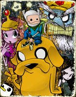 +Adventure Time+ by kraola