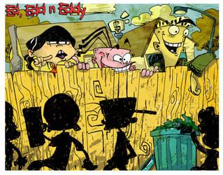 Ed Edd N Eddy by kraola