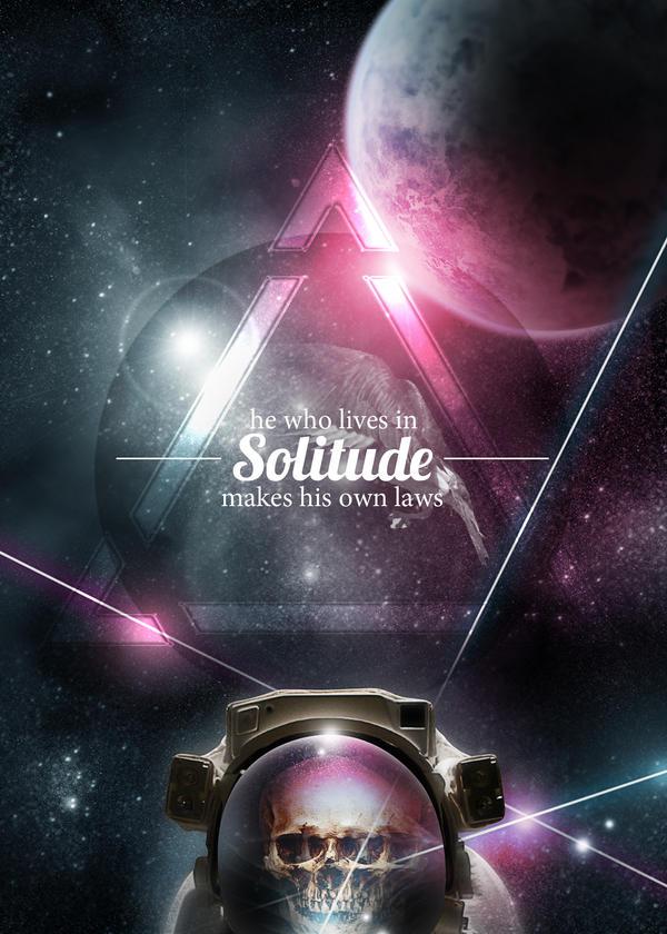 Solitude is King by thatpaperfox