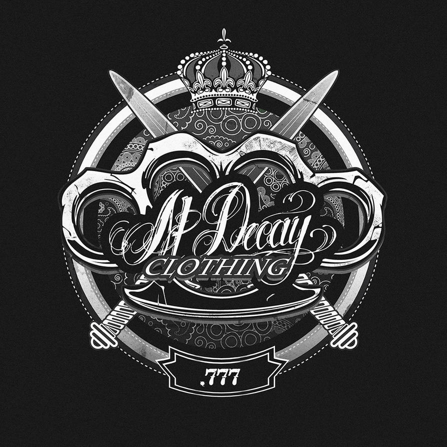 AtDecay Emblem / T-shirt Design by thatpaperfox