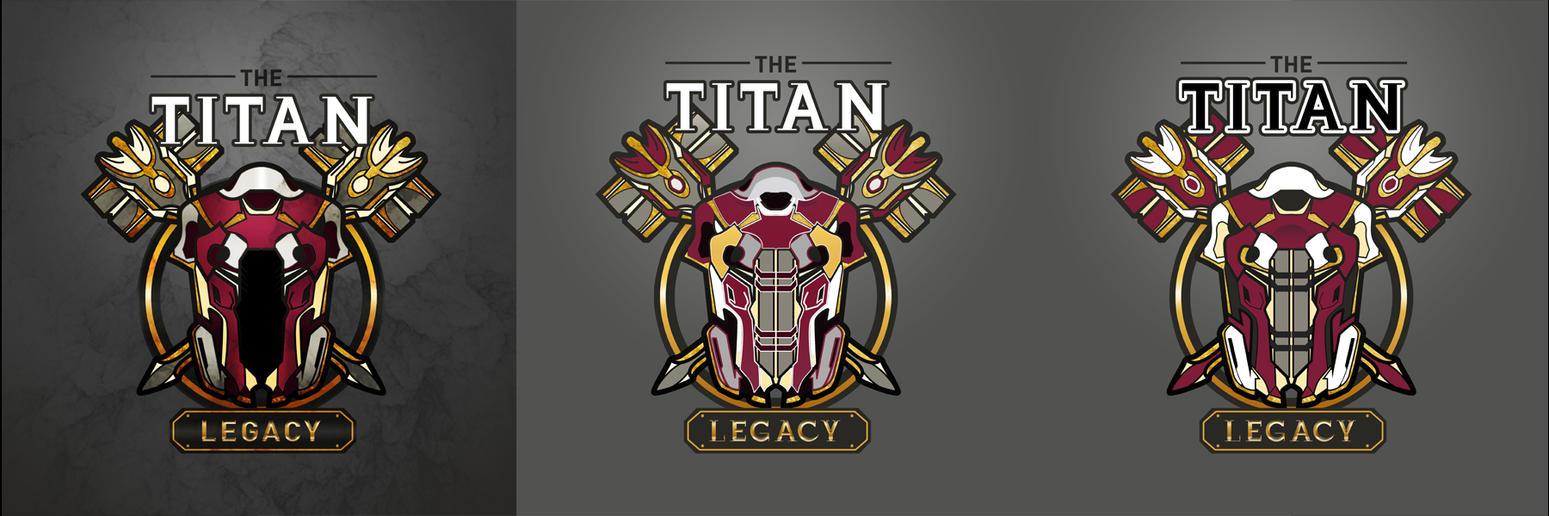 Titan Legacy Logo Design by thatpaperfox