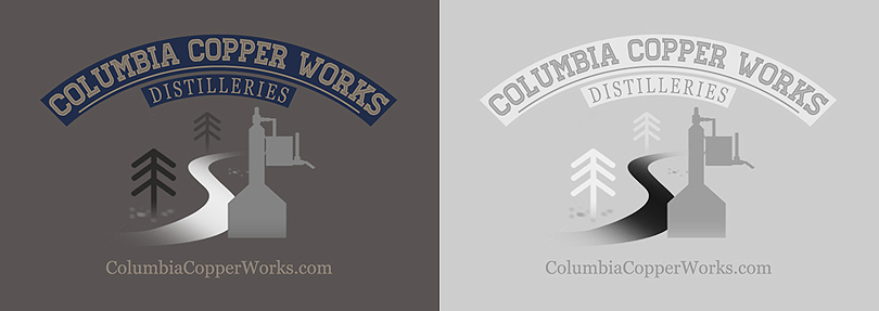 Columbia Copper Works Logo by thatpaperfox