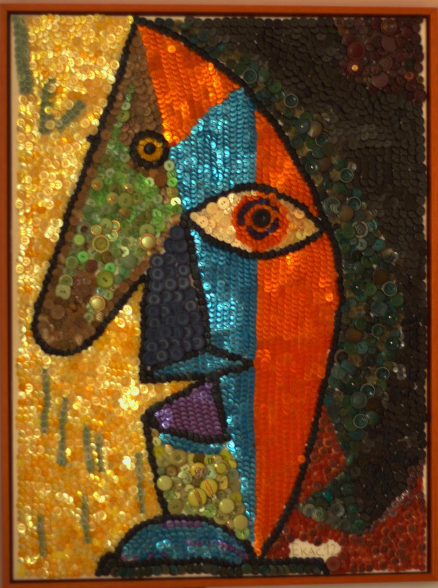 Picasso Portrait Picasso Portrait by Dora