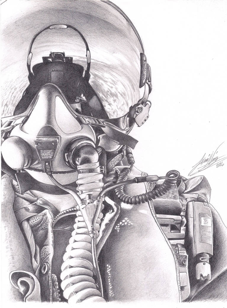 Fighter jet pilot by jdn18