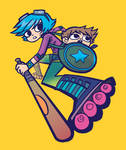 Ramona and Scott by O'Malley