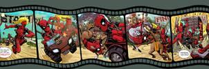 Deadpool Corps by Dave Johnson