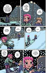 Scott Pilgrim 1 page 84 color by whoisrico