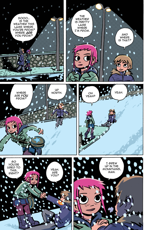 Scott Pilgrim 1 page 84 color by whoisrico on DeviantArt