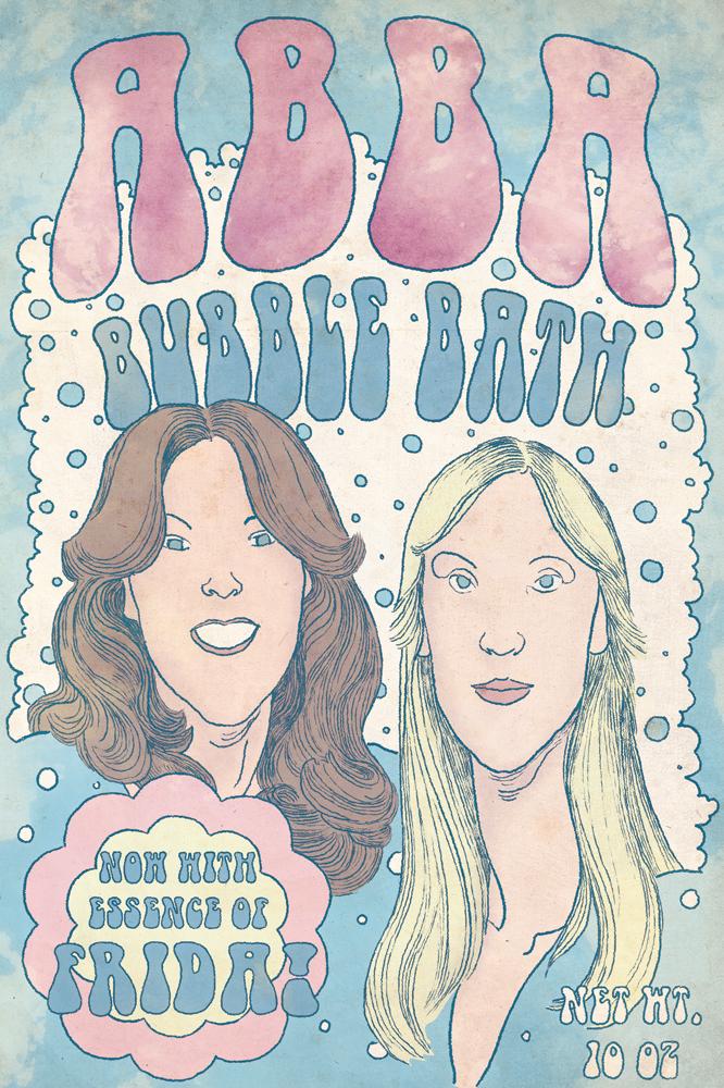 ABBA bubblebath by whoisrico