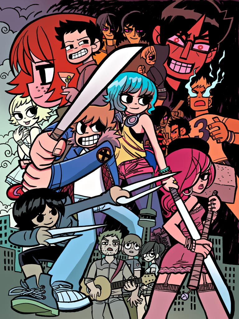 Scott Pilgrim Box Set Poster