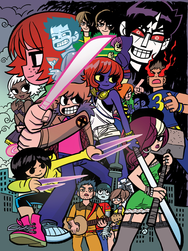 Scott Pilgrim Box Set Poster X by whoisrico