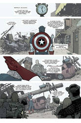 Captain America 616 page 1