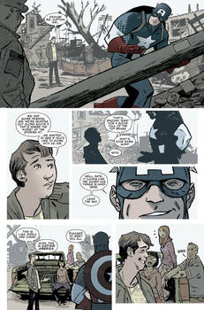 Captain America 616 page 2