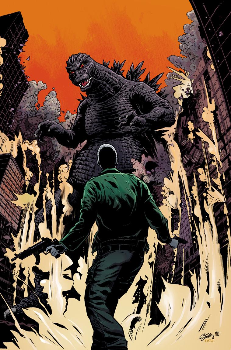 Godzilla cover by Ryan Kelly by whoisrico
